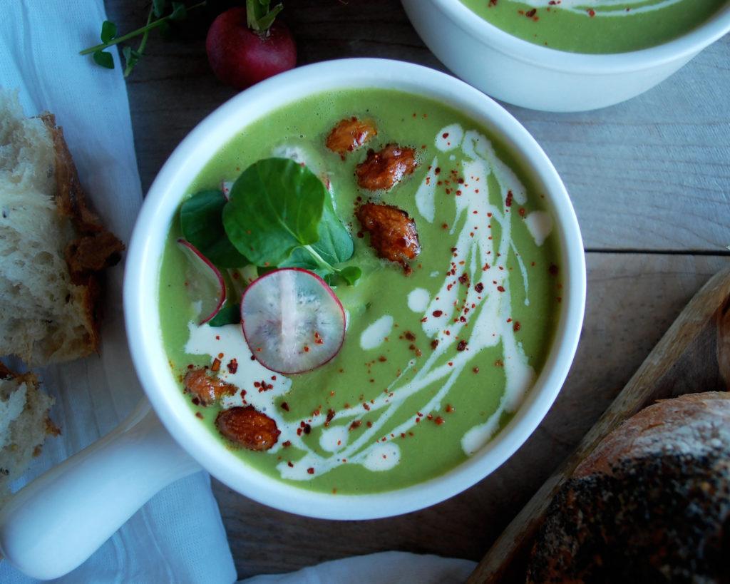 Spring Asparagus Soup