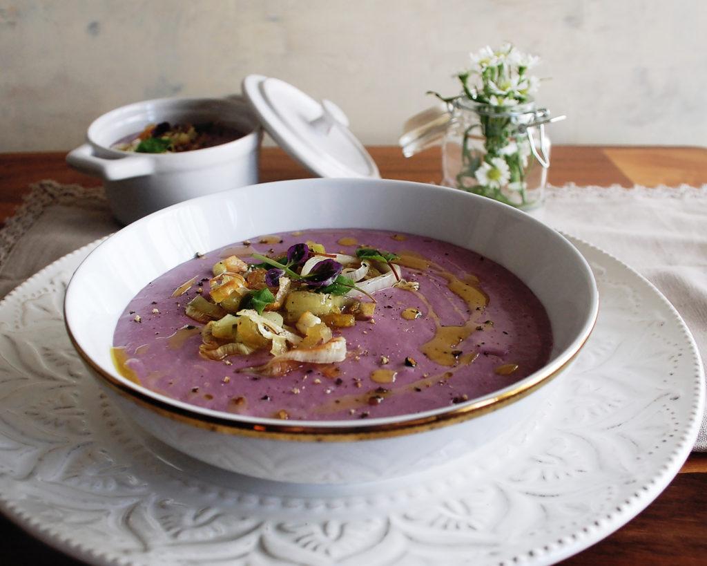 Sweet Potato Leek Soup